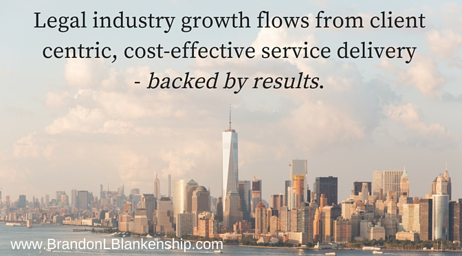 Legal industry growth Brandon L Blankenship