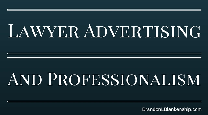 Lawyer Advertising Brandon L Blanenship
