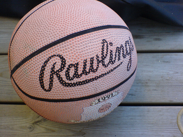 Rawling Basketball inattentional blindness