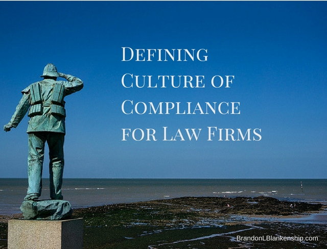 Culture of Compliance for Law Firms